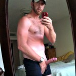 Hot Guy Showing His Very Hard Penis