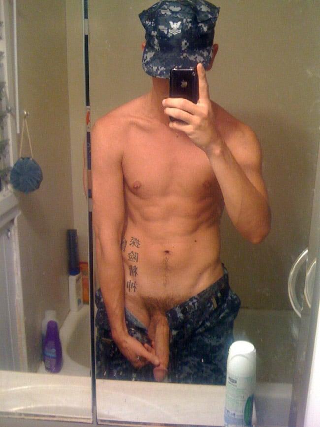 Hot Military Boy Pulls Down On His Dick - Nude Men Selfies