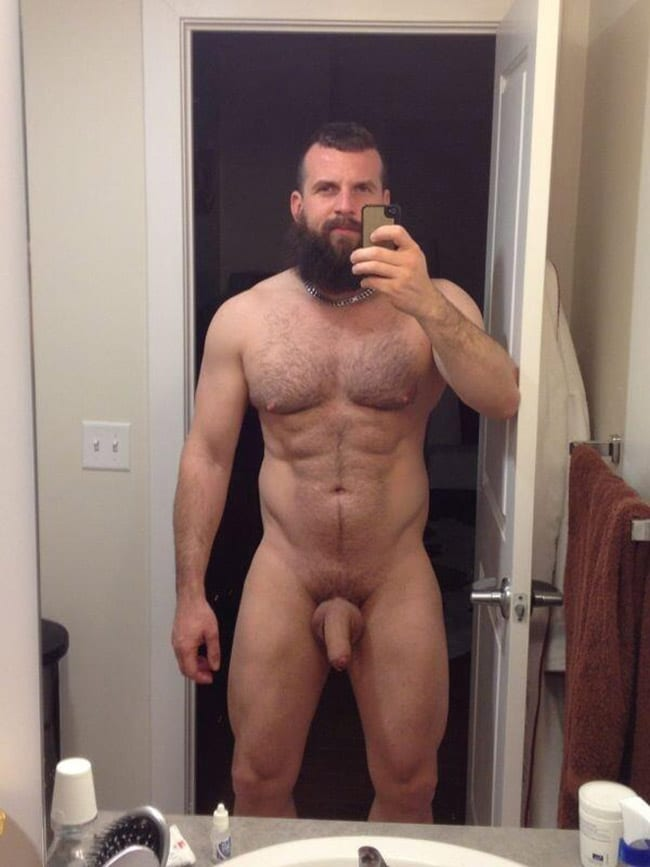 Thick men nude