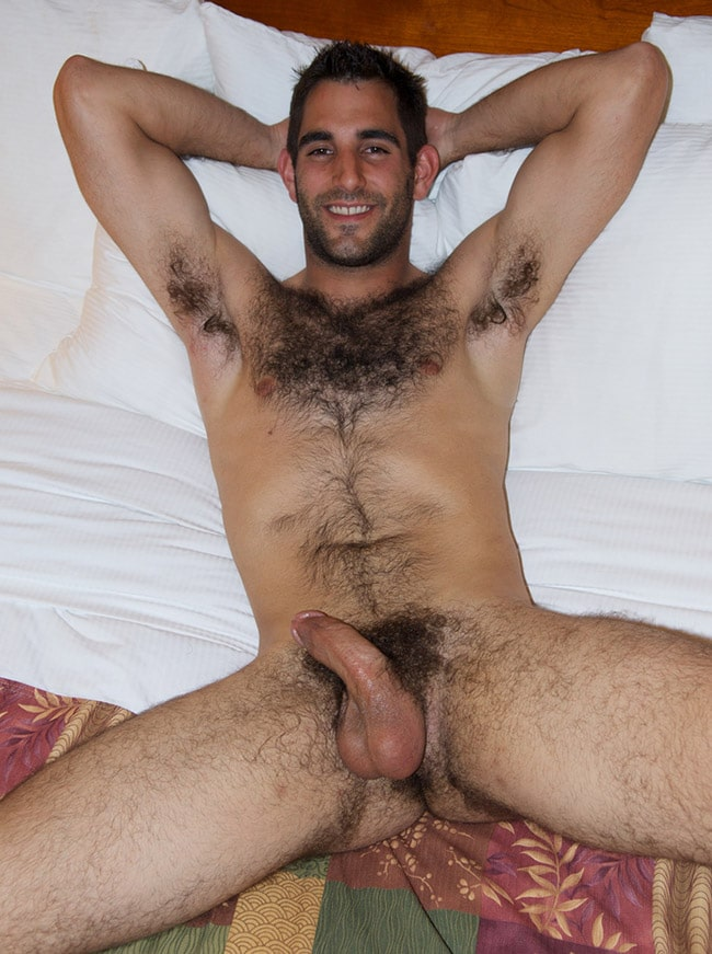 nude hairy college dude