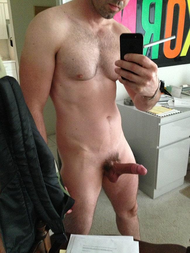 Are erect naked penis correctly